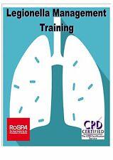 Basic Legionella Management Health & Safety online computer based E-learning