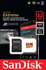 SanDisk extreme 32gb MicroSDHC Memory Card SD Adapter |