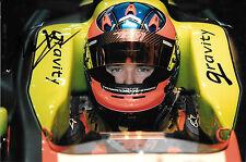 Kevin Korjus SIGNED Gravity/Tech 1 Racing Formula 3.5 Helmet Portrait  2012