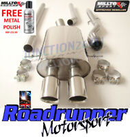 Milltek Exhaust Mini Cooper S Cat Back System R56 R58 Stainless Non Res GT80 Tip