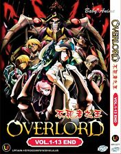 JAPAN DVD Anime OVERLORD Complete Series (1-13 End) English Subtitle ALL Region