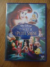 DVD ** LE SECRET DE LA PETITE SIRENE  ** DISNEY VF FR sans losange comme NEUF