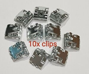 Kitchen Sink Fixing/Fitting Kit 10x Clips  For Stainless steel Sink