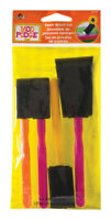 Plaid  Mod Podge  multiple sizes in. W Assorted  Foam  Decoupage Brush Set