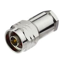 N Stecker Non-Solder Stecker für LMR-400 RG8 RG213 RG9 RG225 RG393