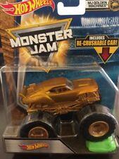 Hot Wheels 3/3 Golden Machines 2018 Hot Wheels Monster Jam Case L