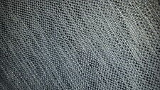 CHARCOAL GRAY CREAM TWEED WOVEN UPHOLSTERY FABRIC