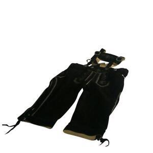 Original Trachten - Kniebundhose Fb. schwarz 100% echtes Leder Gr. 44 - 60 NEU