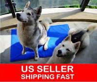 Cool Gel Dog Cat Mat Bed Non Toxic Pet Cooling Pad Cushion Size M, L, LL, XL