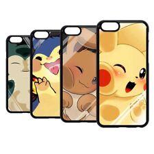Pokemon Pikachu Eevee Snorlax Duro Funda Para iPhone 7 8 XR XS 11 Pro Max