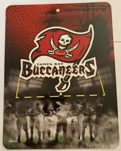 Tampa Bay Buccaneer Sign NFL Licensed Football Game League 8.5x11 wall sports