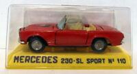 Joal 1/43 Appx Scale Vintage diecast - 110 Mercedes Benz  230 SL Sport Red Open
