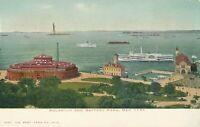 NEW YORK CITY – Aquarium and Battery Park – udb (pre 1908)