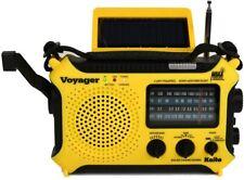 Used Kaito Voyager Ka500L Solar Radio with Noaa Weather Band and Led Flashlight