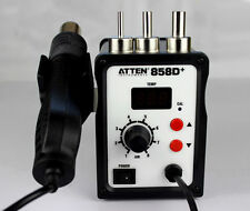 ATTEN AT858D+ Digital Hot Air Gun Soldering Rework Station 220V