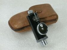 Early Pre-war Leica Shutter Release, Self Timer APDOO/14003 + Case