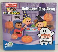 2008 Fisher Price Little People Halloween Sing-Along 2 CD Set D31