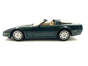 Maisto Chevrolet Corvette C4 Green Chevy 1/18 Scale Diecast Car #820