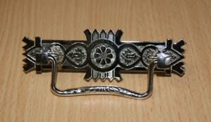 East Lake Drawer Pull Nickel Plated Brass