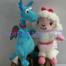 SET OF  2pcs Doc McStuffins friend Lambie &Stuffy Stuffed Doll Plush