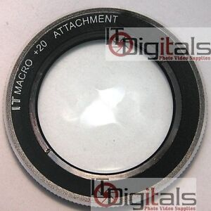 58mm Macro +20 Close-up Lens Filter For Camcorder Camera  +20IT 58 mm Circular
