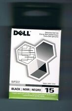 Genuine Dell Series 15 Black WP322 Ink Cartridge V105 AIO