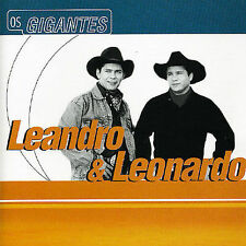 Serie os Gigantes by Leandro y Leonardo (CD, Dec-2003, Unimar)