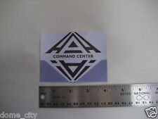 SPACE 1999 Moonbase Alpha Command Center Sticker / Gerry Anderson Eagle 1