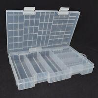 AA AAA C D 9V 14500 Battery Plastic Storage Box/Case/Organizer HOT 2017