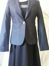 Massimo dutti  Navy Nautical Style Suit Short Tailored Jacket Size 38 Lined
