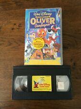 """VHS   DISNEY   CLASSIQUES   «OLIVER & COMPAGNIE""""   AVEC HOLOGRAMME"""