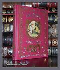 Grimm's Fairy Tales Illustrated New Sealed Leather Bound Collectible Deluxe Gift