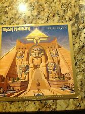 IRON MAIDEN POWERSLAVE! 1984 ORIGINAL VINTAGE ALBUM