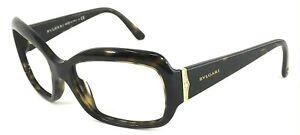 BVLGARI MOD.8052-B 504/73 Italy Brown Tortoise/Gold 58-17-130 Sunglasses Frame