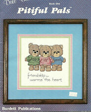 Pitiful Pals Teddy Bears Counted Cross Stitch Patterns 13 designs Inspirational