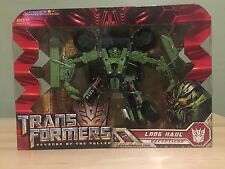Transformers Revenge of the Fallen Voyager Long Haul Figure Movie Bay 2009 MISB