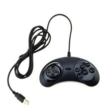 Pop New 6Buttons USB Classic Gamepad Game Controller Joypad for the SEGA Genesis