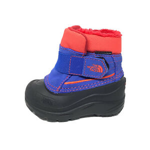 The North Face Alpenglow ll Boys SZ 5 Toddler Waterproof Winter snow boots 200g