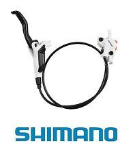 Shimano M445 Freno a disco idraulici-mano destra posteriore tubo - 1400 mm-bianco