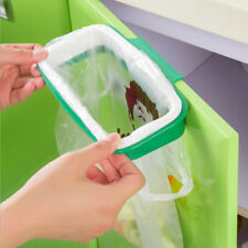 Kitchen Hanging Trash Rubbish Bag Holder Garbage Storage Rack Cupboard Hanger