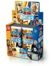 WWE Slam Attax Rivals Trading Cards Box Of 24 Packets - 192 Cards Brand New