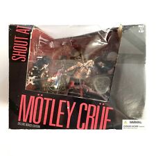 """McFarlane Toys Motley Crue """"Shout at the Devil"""" Deluxe Boxed Edition"""