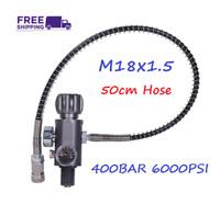 M18x1.5 PCP Scuba Tank Gauge Charging Valve Air Filling Station Refill Adapter