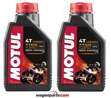 Aceite Motos 4T Motul 7100 10W50, pack 2 litros