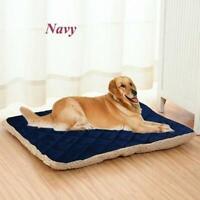 Große & extra Fell Hundebetten Haustier waschbar Reißverschluss Matratze Kissen
