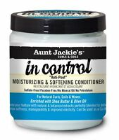 Aunt Jackie's In Control Moisturizing and Softening Conditioner, 15 oz