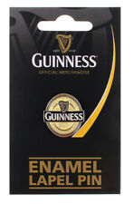 Lapel Pin Badge Label Guinness Size: 1 inch x 0.9 inch Quality Metal