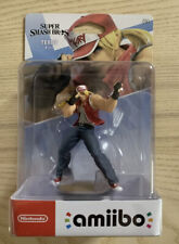 Super Smash Bros Ultimate Terry amiibo Nintendo Switch - Fatal Fury In Hand!