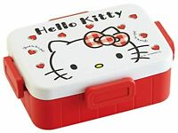 4-point lock lunch container box 650ml Hello Kitty Red Heart Sanrio YZFL7