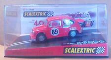 Fiat 600 / 1000 Abarth 40 Aniversario + regalo decoración Exin Scalextric SCX